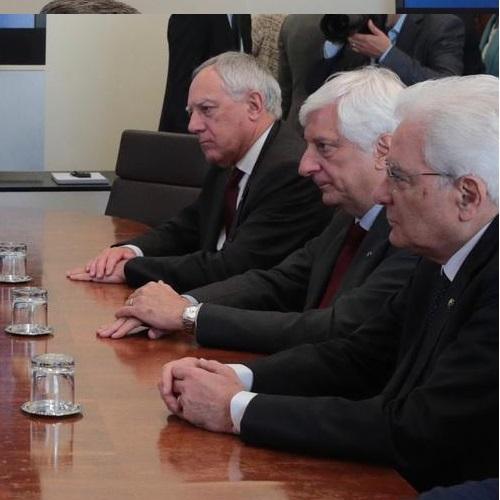 Visita del Presidente della Repubblica Italiana in Borsa Italiana