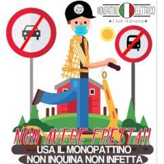 Monopattini elettrici bonus 500 euro e il Club del Monopattino