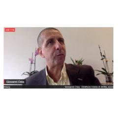 Il Prof. Giovanni Crea a lezione all'Università Mercatorum