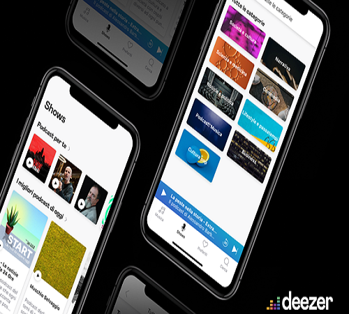 "Deezer lancia ""Shows"": i podcast disponibili in oltre 50 paesi"
