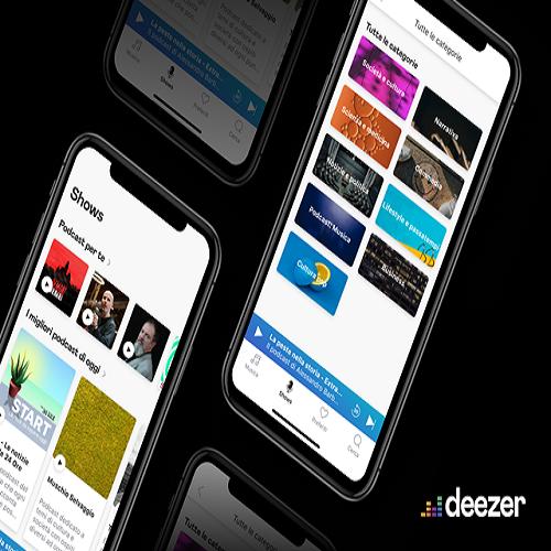"Deezer lancia ""Shows"": i podcast disponibili in oltre 50 paesi"