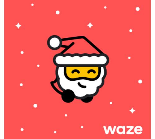 Waze: Il nuovo tema natalizio porta allegria agli spostamenti