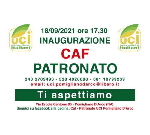 Inaugurato il nuovo Caf – Patronato UCI a Pomigliano D'Arco