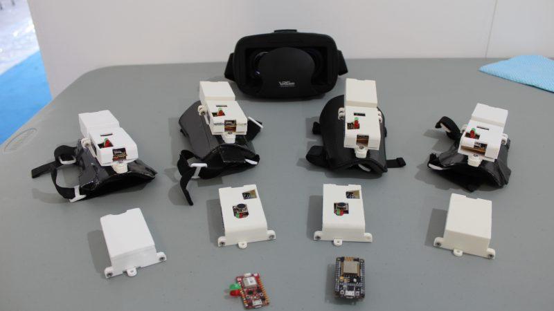 Bodynodes al MakerFaire 2021 a Roma